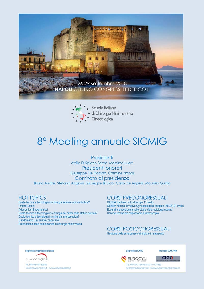 8 meeting annuale SICMIG innovamedica