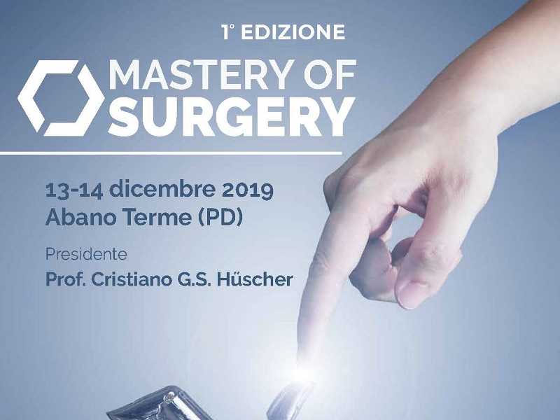 13-14 Dicembre 2019, Master of Surgery