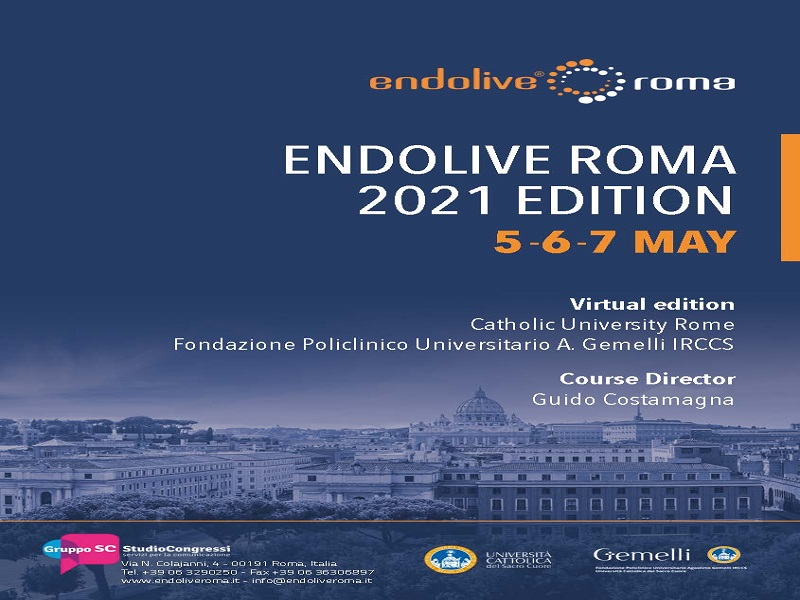 5-7 MAGGIO 2021, ENDOLIVE Virtual Edition