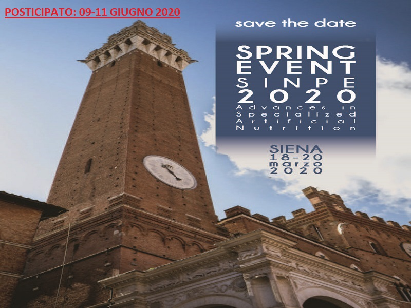18-20 Marzo 2020 - SINPE SPRING EVENT